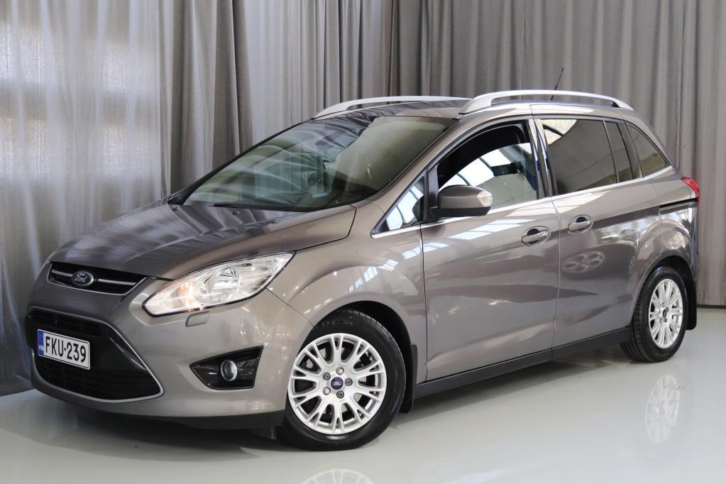 Ford Grand C-Max 2, 0 TDCi 140 hv PowerShift aut. Titanium A6 5-ov. 7-PAIKKAINEN!