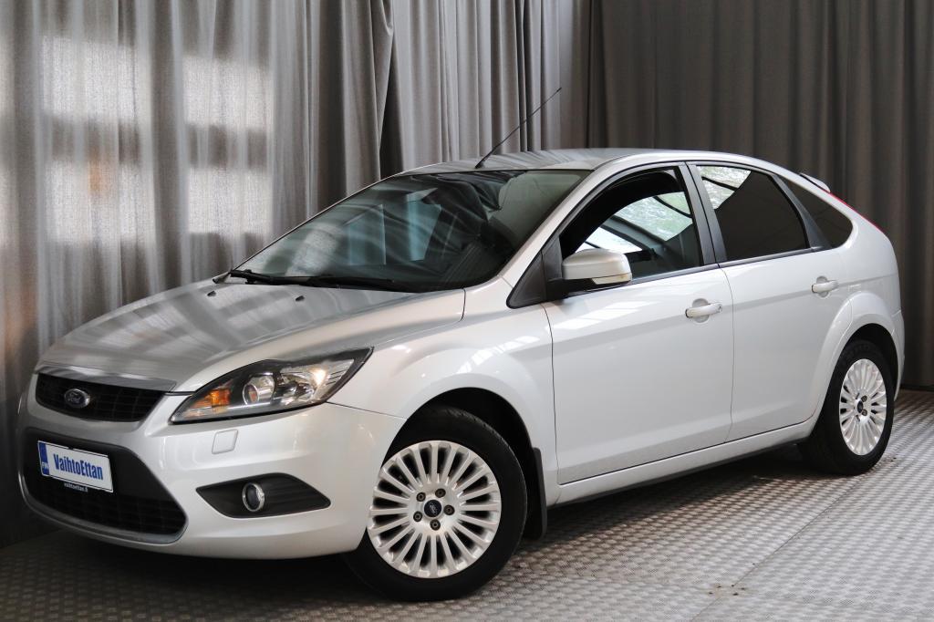 Ford Focus 1, 8 125hv FlexiFuel Titanium M5 5-ovinen,  XENONIT,  OSANAHAT,  YM.!