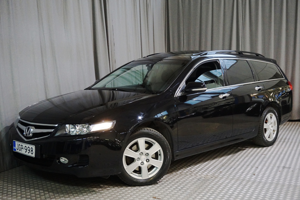 Honda Accord 2, 4i Executive Tourer AT Black Pearl,  SIISTIKUNTOINEN!