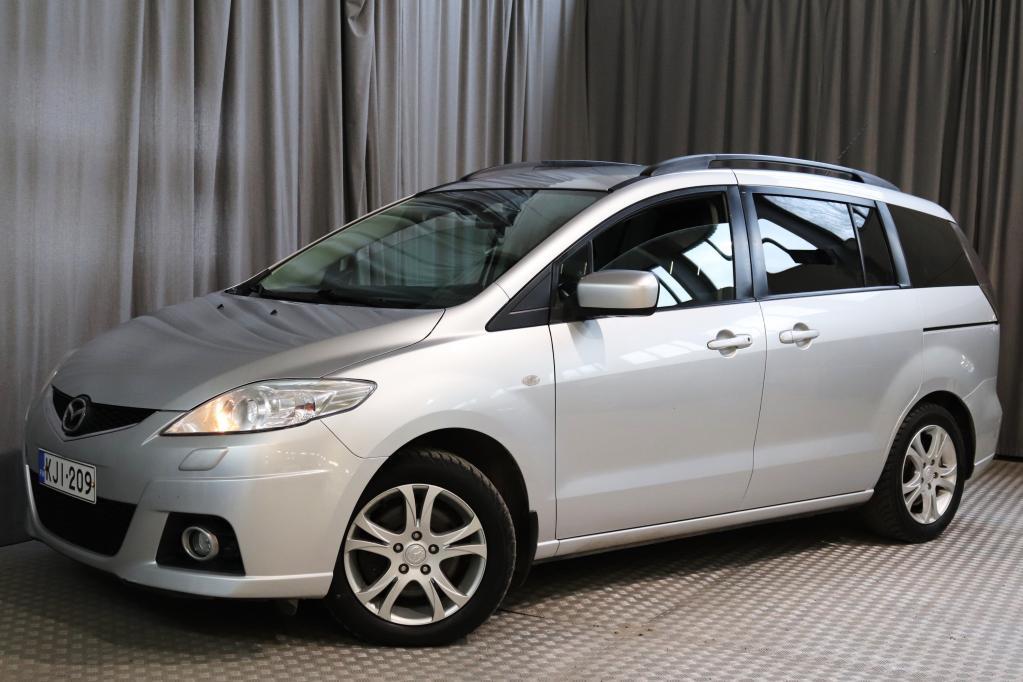 Mazda 5 2, 0TD Elegance Business 6MT,  TALOUDELLINEN 7-PAIKKAINEN!