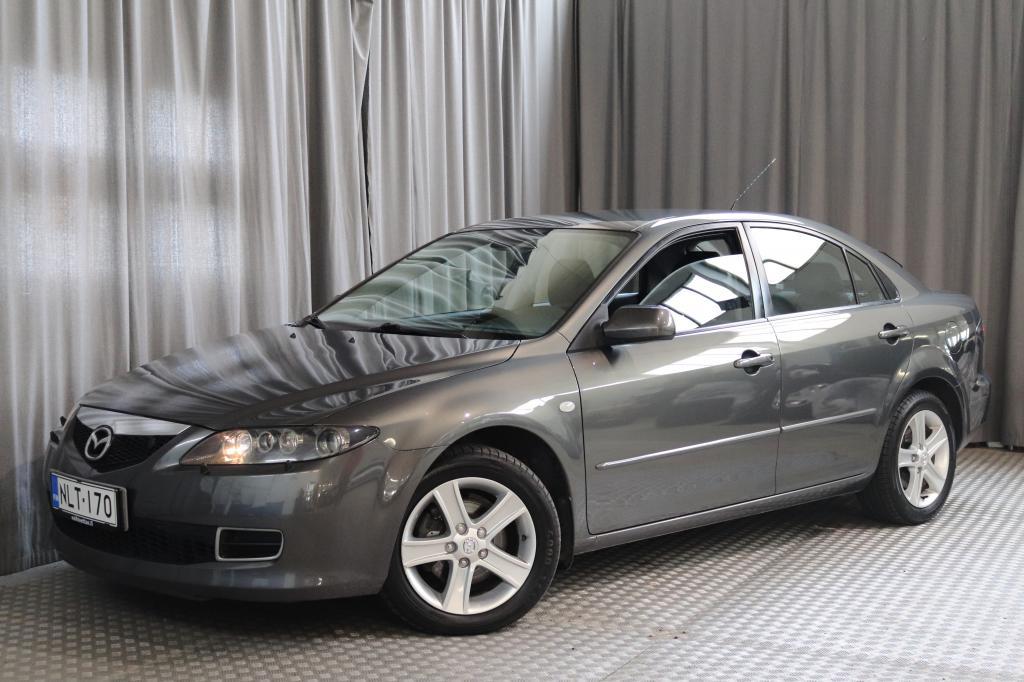 Mazda 6 Sport 2, 0 Elegance 6MT 5d,  VÄHÄN AJETTU!