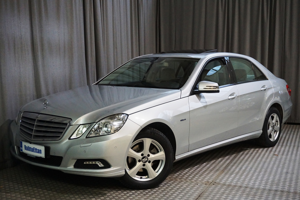 Mercedes-Benz E 200 CGI BE A,  TYYLIKÄS BENSA-AUTOMAATTI!