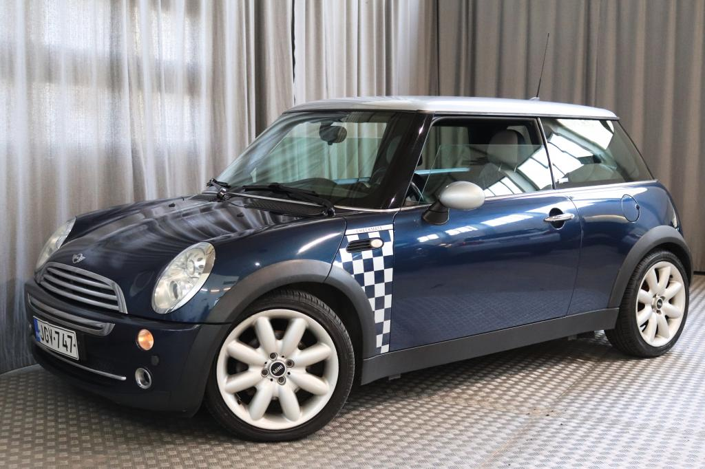 Mini Cooper 1.6 Checkmate Hatchback,  SUOMI-AUTO!