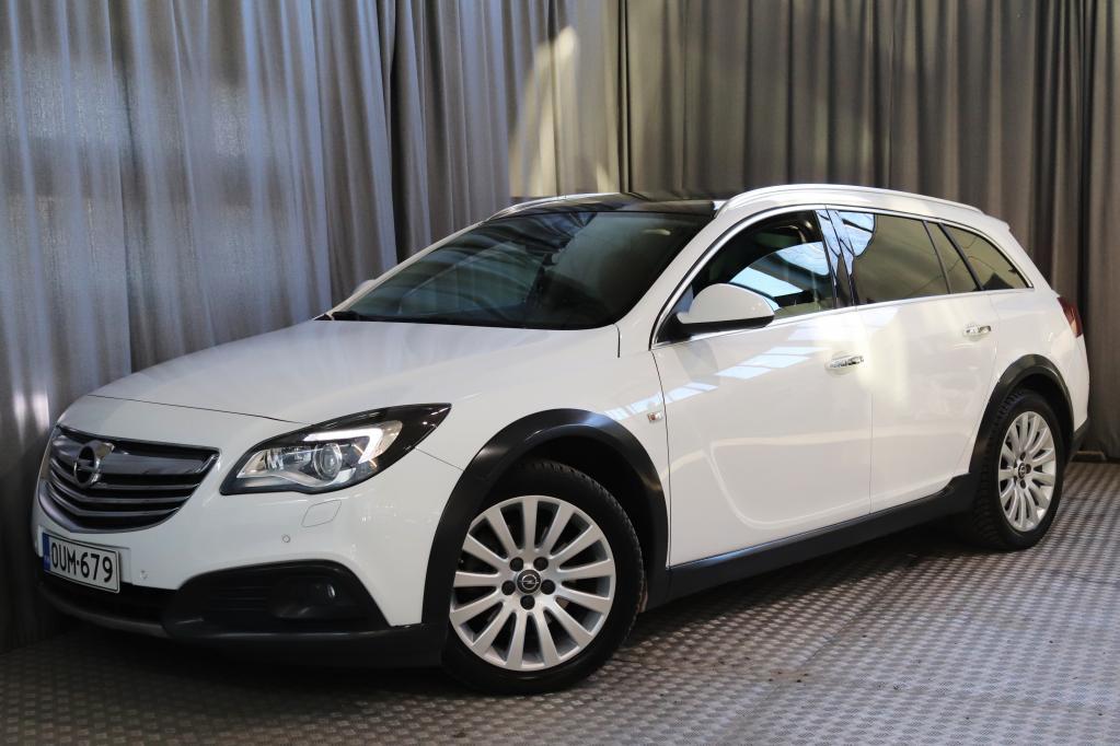 Opel Insignia Country Tourer 2, 0 CDTI BiTurbo 4x4 143kW AT6,  HYVÄT VARUSTEET!