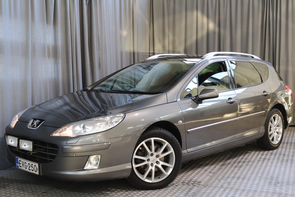 Peugeot 407 SW Executive HDi 136 FAP Aut.,  SEUR. KATS. 1/2021!