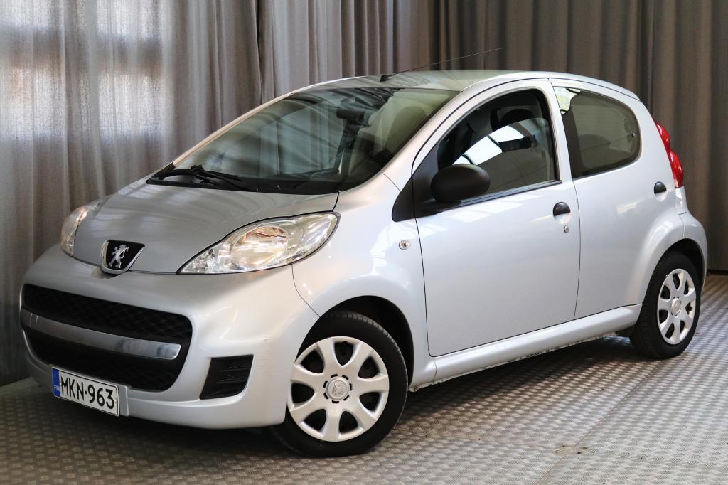 Peugeot 107 Access 1, 0 5-ov.,  ILMASTOINTI,  SEUR. KATS. 6/2020!