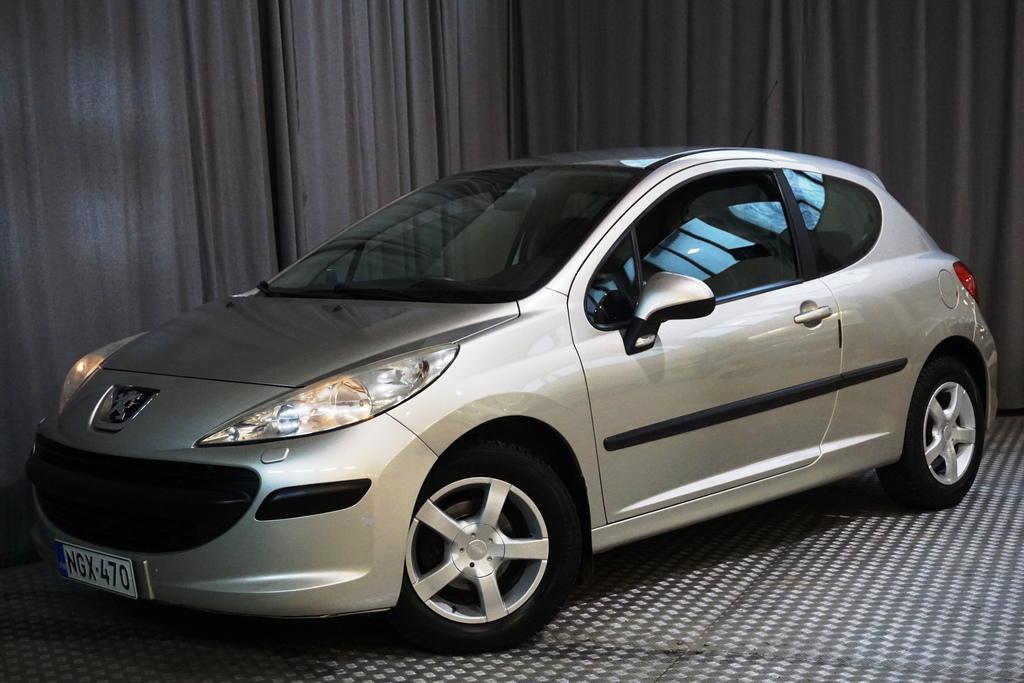 Peugeot 207 Trendy 1, 4 16V 3-ov.,  UUDELLA JAKOHIHNALLA!
