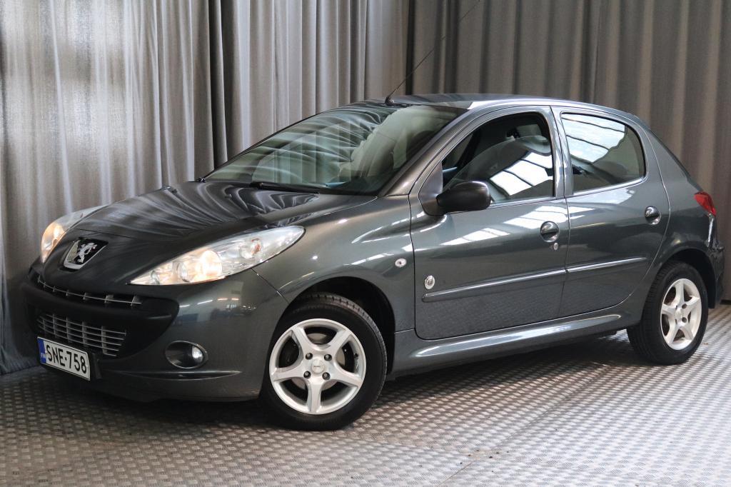 Peugeot 206+ Generation 75 5-ov,  VÄHÄN AJETTU!