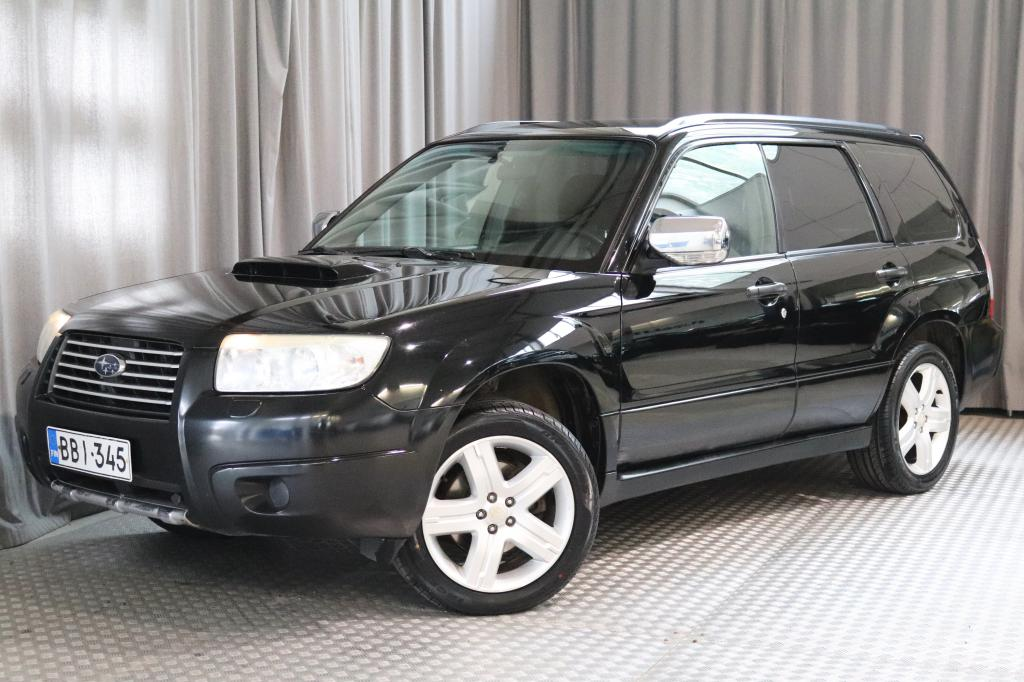 Subaru Forester 2, 5 Turbo XT AWD AT,  TEHOKAS NELIVETO!