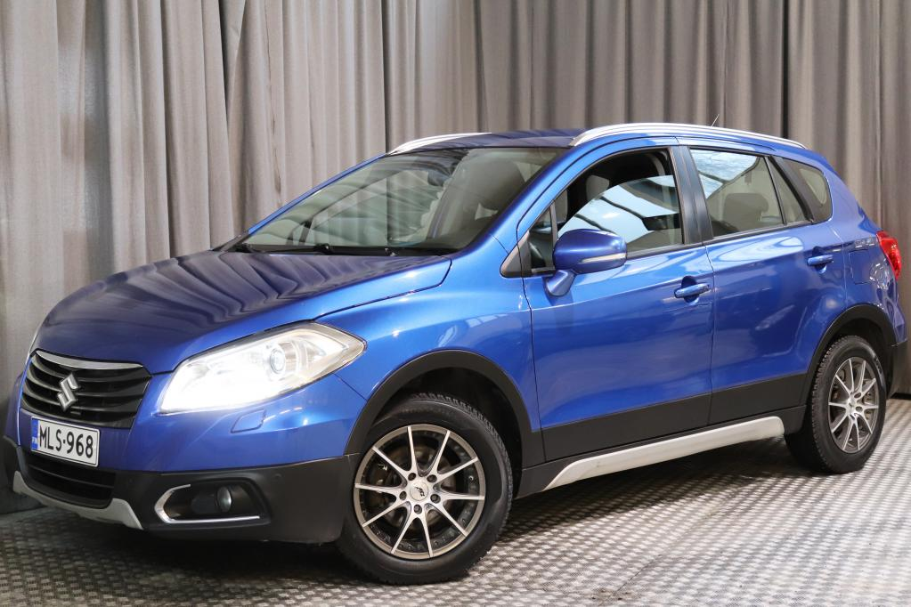 Suzuki SX4 1, 6 VVT 4WD GLX CVT,  HYVÄT VARUSTEET!