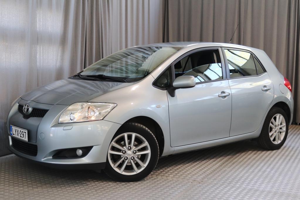 Toyota Auris 1, 6 Dual VVT-i Linea Sol Blue 5ov,  MERKKIHUOLLETTU!