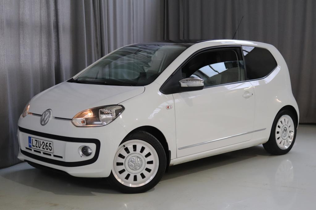 Volkswagen up! white up! 1, 0 55 kW (75 hv) BlueMotion Technology 2-ov. VARUSTELTU!