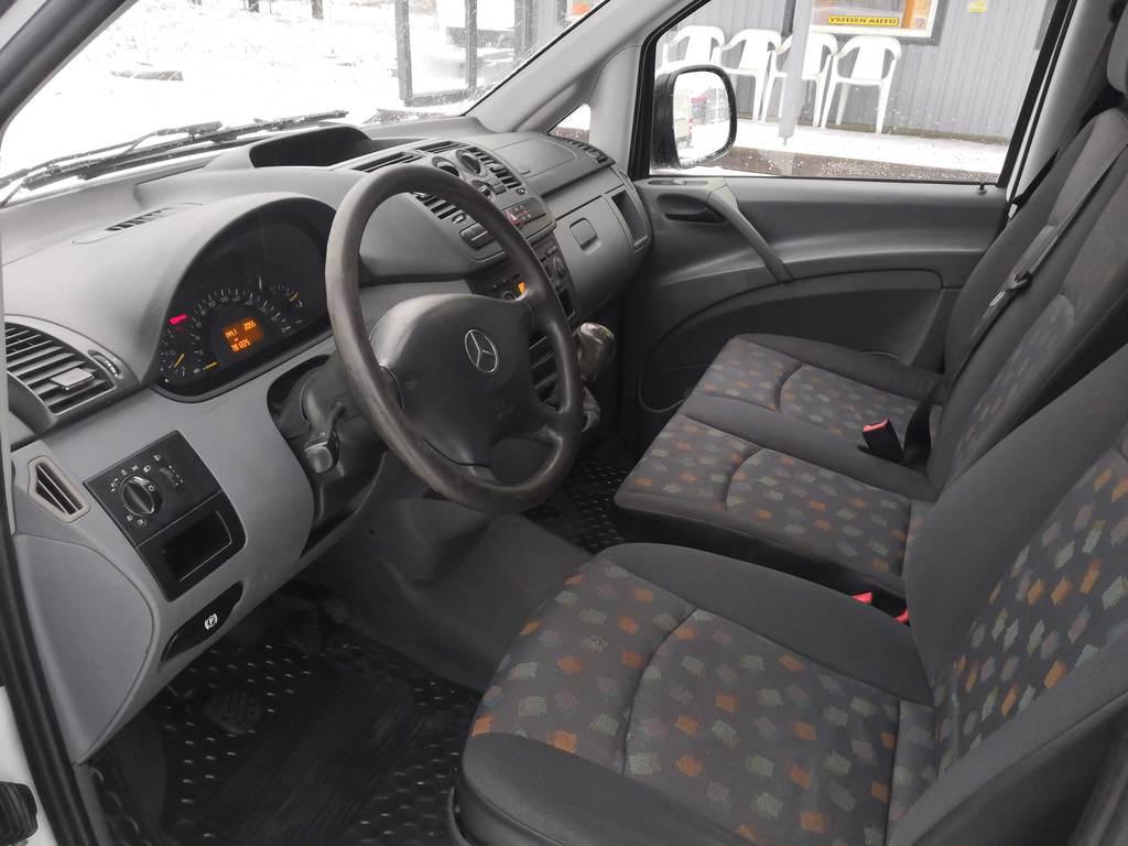 Mercedes-Benz Vito, 111CDI PARIOVET VETOKOUKKU SIS 24% ALV
