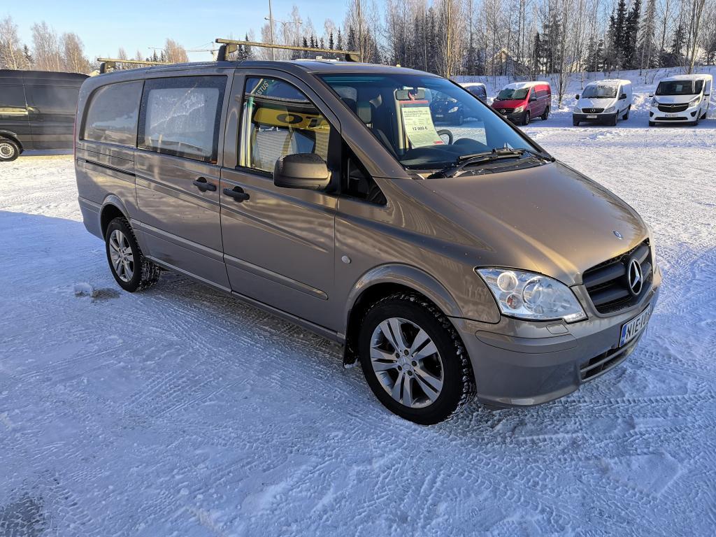 Mercedes-Benz VITO, 113CDI AUTOMAATTI VETOKOUKKU WEBASTO SIS 24% ALV